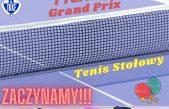 I Turniej Grand Prix Małopolskiego TKKF w tenisie stołowym